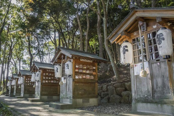 淵神社(長崎県長崎市淵町、稲佐山麓)の十二支神社