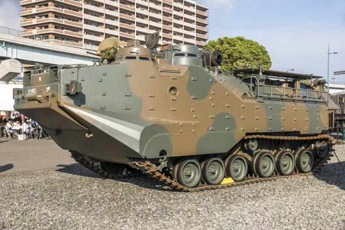 陸上自衛隊 水陸機動団(佐世保相浦駐屯地)のAAV7