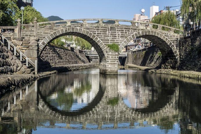 眼鏡橋(長崎市魚の町・中島川石橋群)