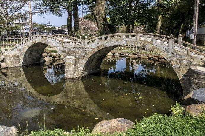 ミニ眼鏡橋(長崎県諫早公園)