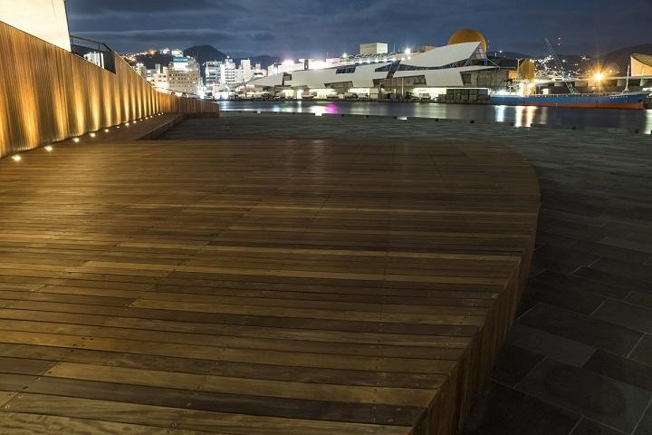 長崎県庁舎前埠頭