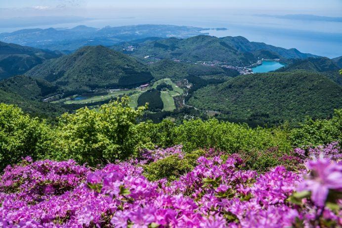 妙見岳からの絶景(長崎県雲仙)
