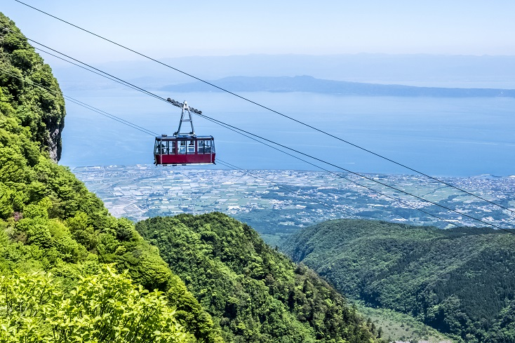 雲仙ロープウェイと妙見岳からの絶景