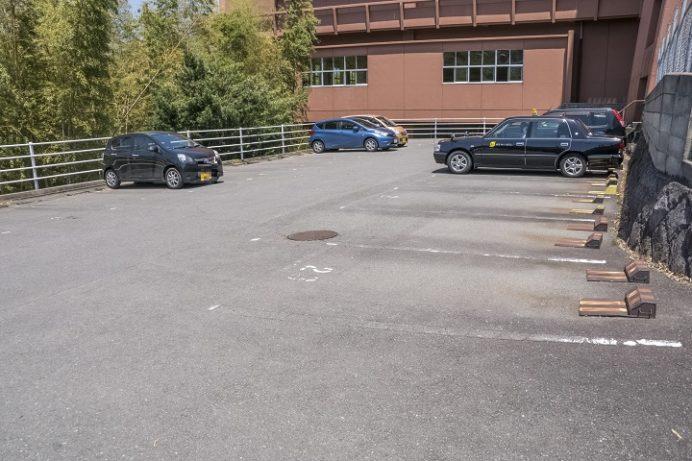亀山社中記念館の臨時駐車場「瓊浦学園 瓊浦高等学校」