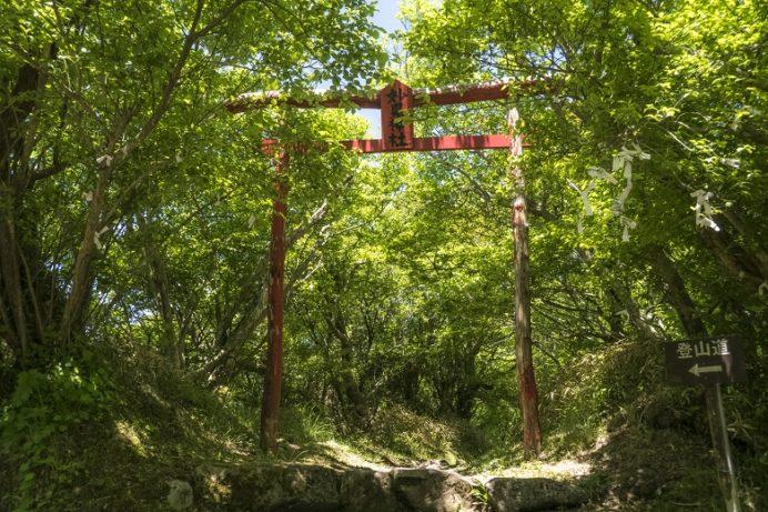 雲仙岳登山道(長崎県島原半島)、雲仙岳の妙見神社