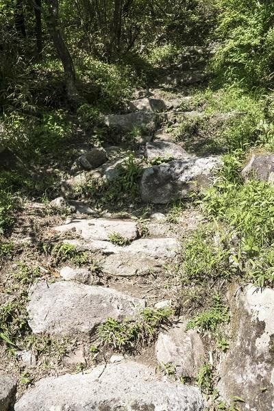 雲仙岳登山道(長崎県島原半島)の第2吹越登山口