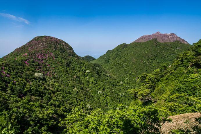 雲仙岳登山道(長崎県島原半島)