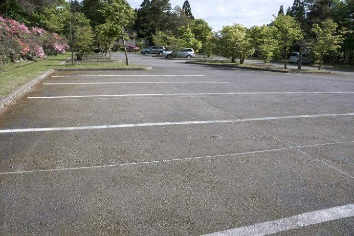 雲仙・池ノ原園地駐車場の妙見駐車場