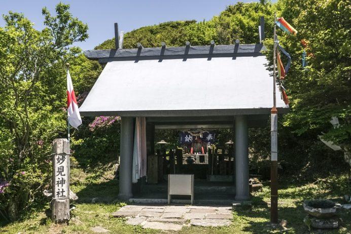 雲仙岳の妙見神社