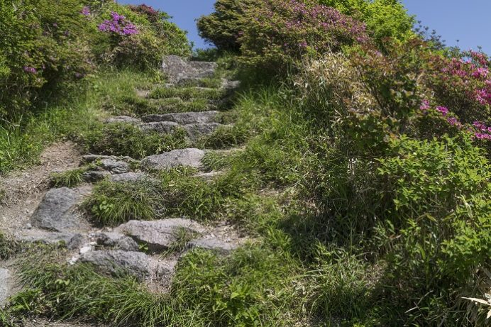 雲仙岳登山道(長崎県島原半島)、妙見岳