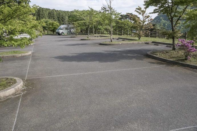 雲仙・池ノ原園地駐車場の矢岳駐車場