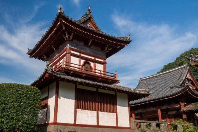 興福寺(長崎市寺町、唐寺)の鐘鼓楼