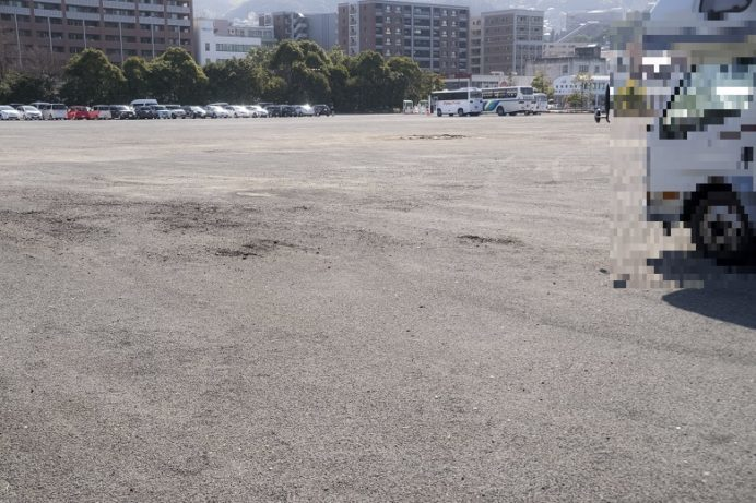 長崎県営常盤駐車場(南側)