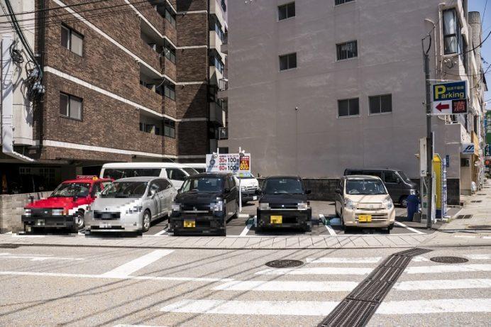 福徳大浦第一パーキング(グラバー園・孔子廟周辺の駐車場)