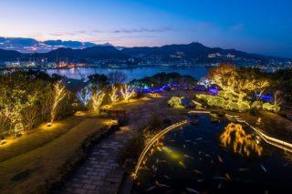 グラバー園の夜間ライトアップ2019【営業時間と日程、入場料】