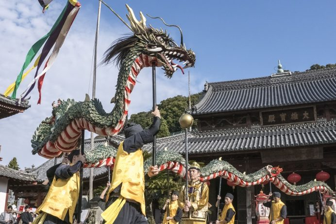 長崎ランタンフェスティバル【龍踊りの会場・日時】ベストはココ!