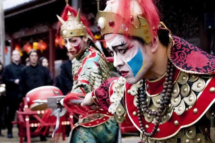 長崎ランタンフェスティバル(興福寺)の媽祖行列
