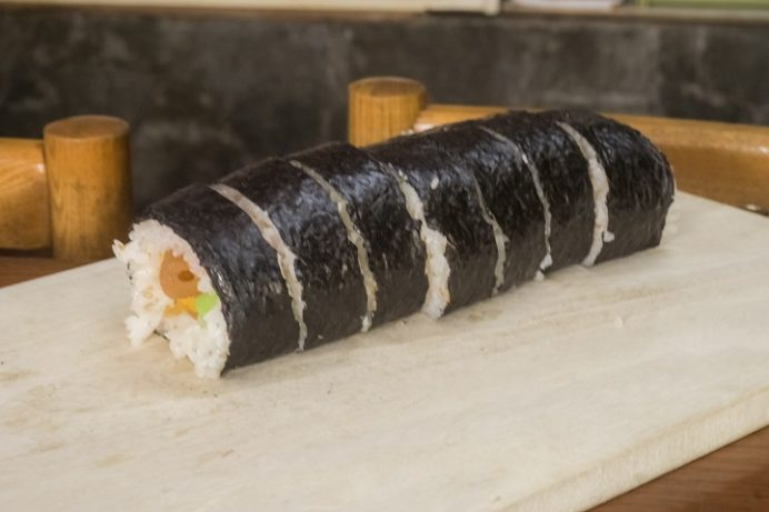 寿々屋(長崎市十人町)の巻き寿司