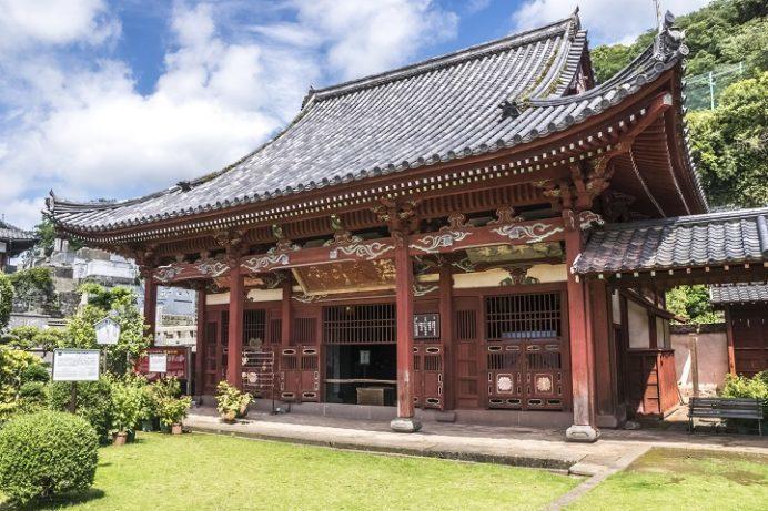 興福寺(長崎市寺町、唐寺)の媽姐堂 (県指定有形文化財)