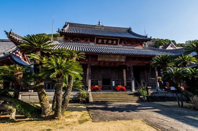 興福寺(長崎市寺町、唐寺)の大雄宝殿