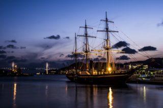 「大波止橋の夜景」~インスタ映え写真が、チャチャっと撮れる!