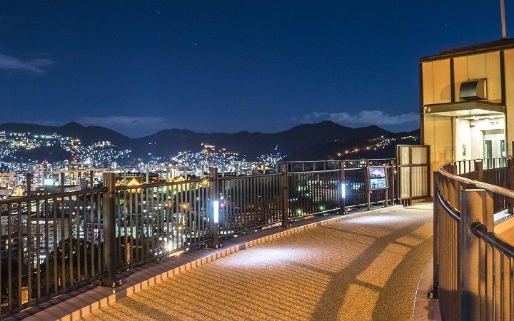 グラバースカイロードからの長崎の夜景