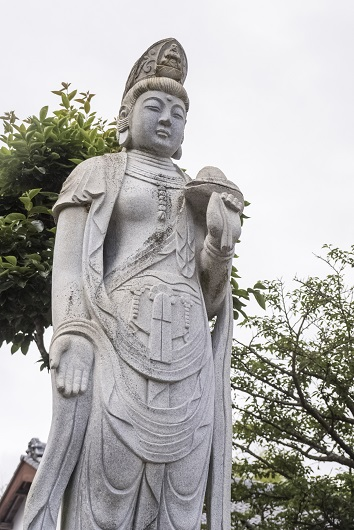 西福寺(長崎県壱岐市)のあじさい