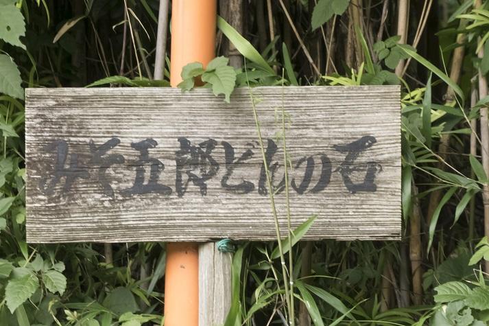 みそ五郎どんの石(諫早市森山)