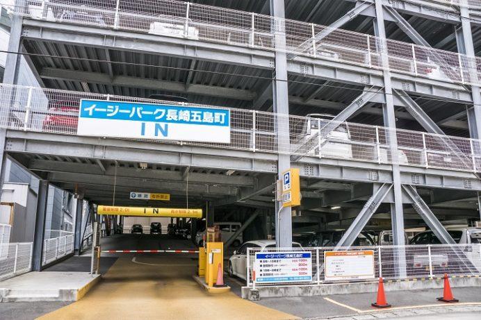 イージーパーク長崎五島町(駐車場)