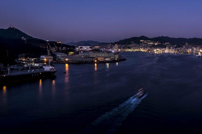 「女神大橋の夜景」【画像集】 ~稲佐山級を期待したら憤死確実。「フツーに綺麗だナー」的夜景と心得るベシ