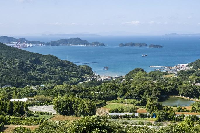 長尾城跡公園(長崎県西海市)の絶景