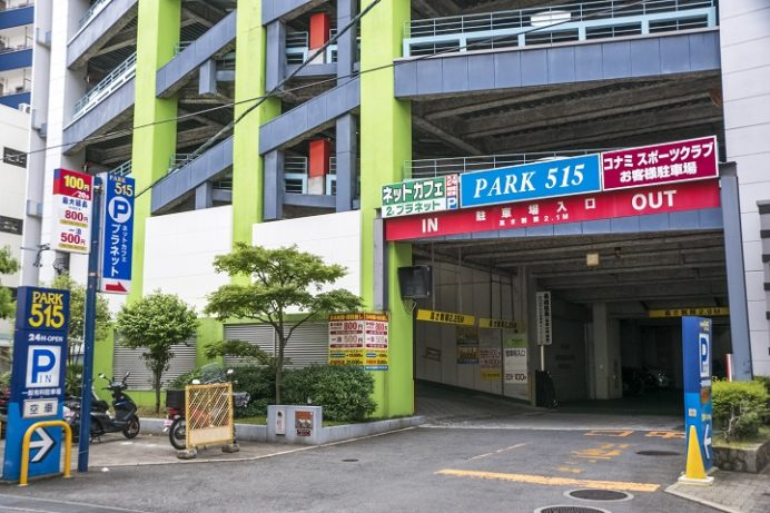PARK515(長崎市五島町の駐車場)