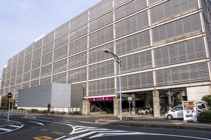 ゆめタウン 夢彩都の駐車場(長崎港ターミナル、出島ワーフ、水辺の森公園駐車場)