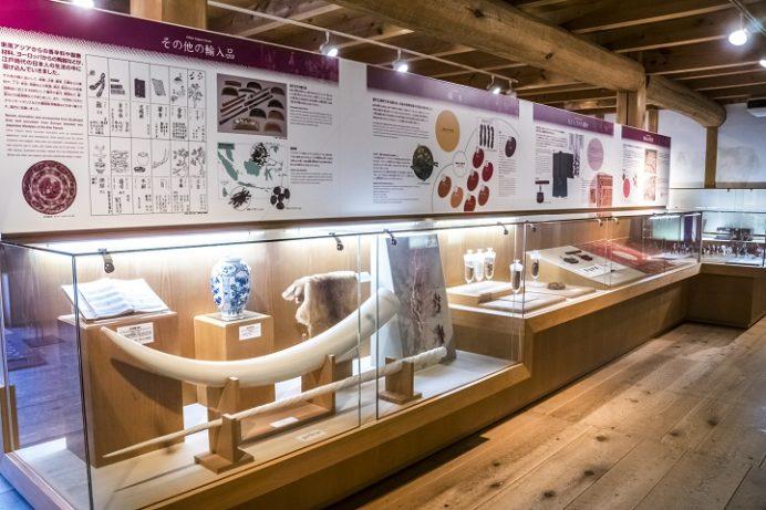 出島(出島和蘭商館跡)の展示物、長崎市