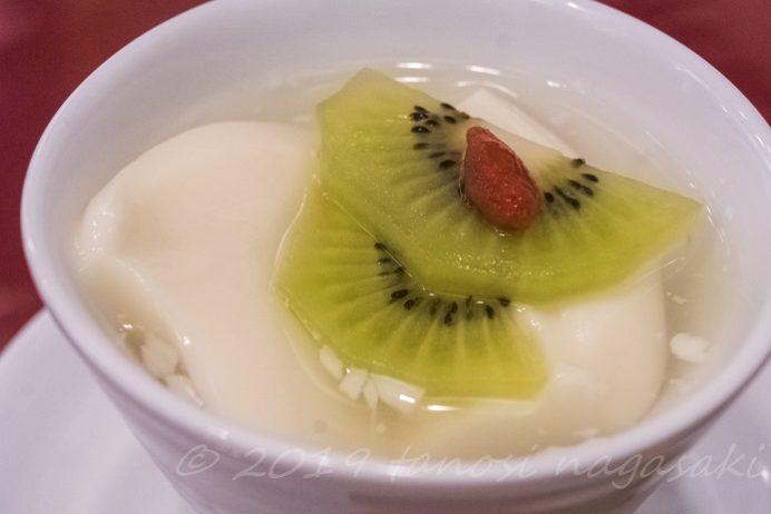 中華菜館 福壽(長崎新地中華街)の杏仁豆腐