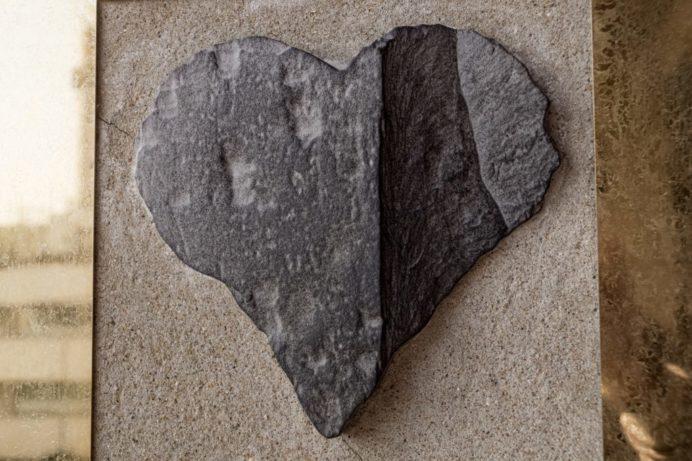 グラバー園のハートストーン(ハートの石)