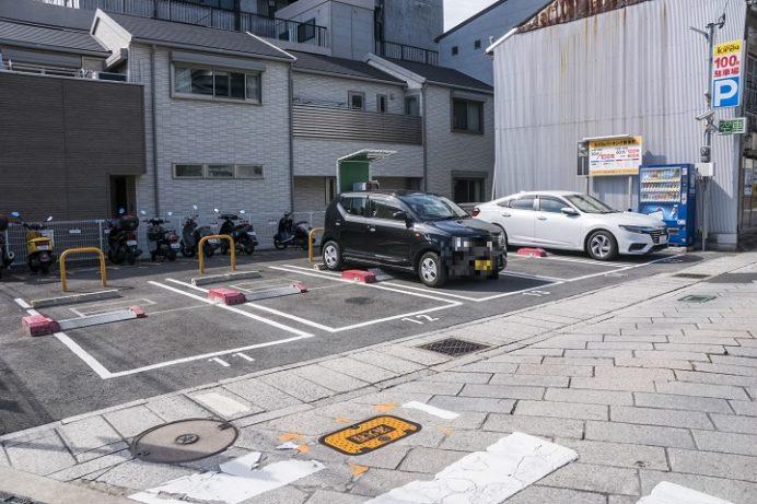 TOP24パーキング銀屋町(眼鏡橋周辺駐車場)