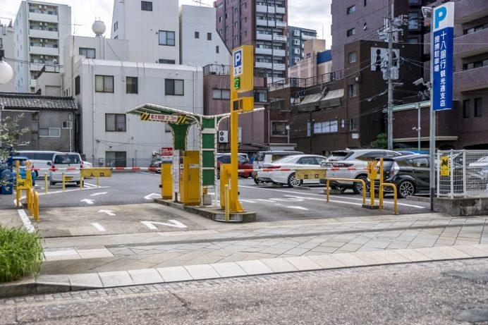 万屋パーキング(眼鏡橋周辺駐車場)