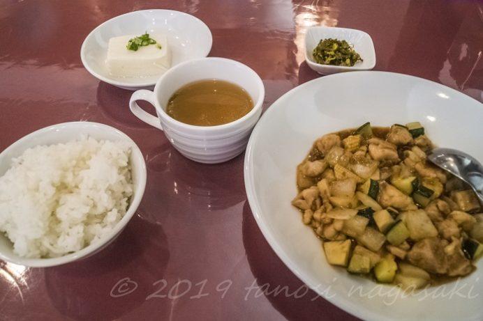 中華菜館 福壽(長崎新地中華街)のランチ