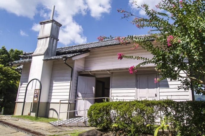 グラバー園(長崎市南山手町)の旧ウォーカー住宅
