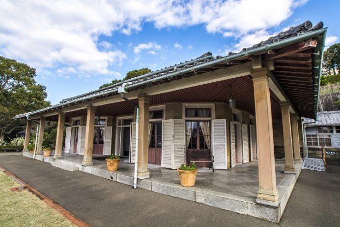 グラバー園(長崎市南山手町)の旧リンガー住宅