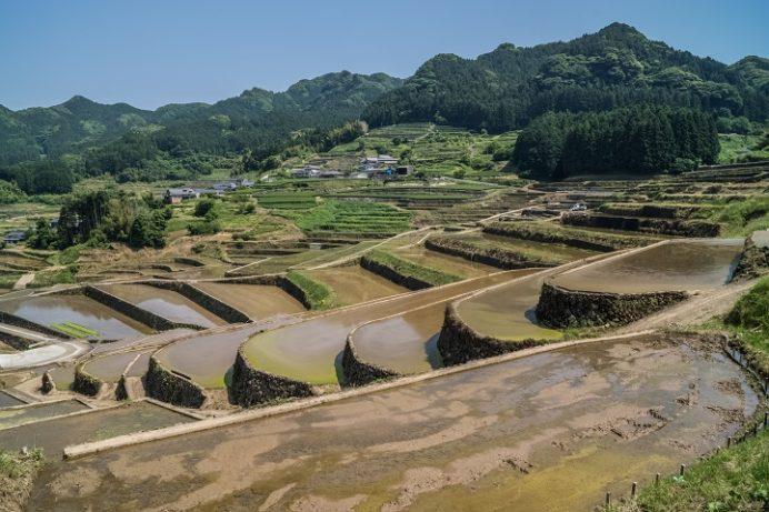 鬼木の棚田(東彼杵郡波佐見町)