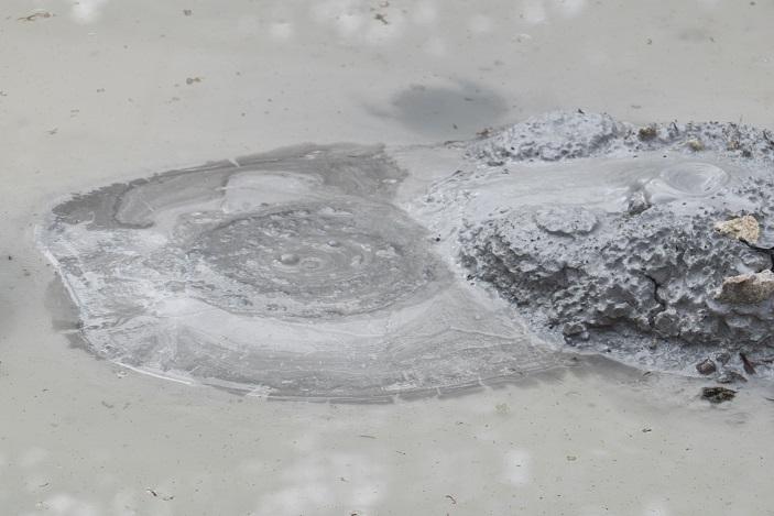 雲仙地獄(長崎県雲仙市小浜町)の泥地獄