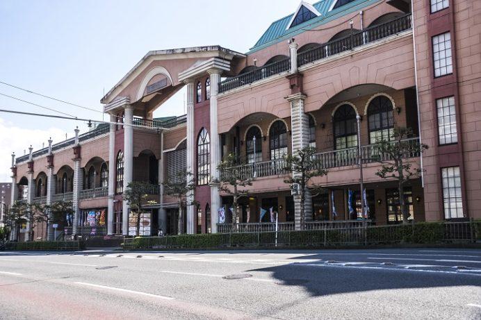 長崎西洋館の駐車場(平和公園近く)