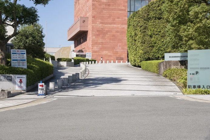 原爆資料館 駐車場(平和公園の駐車場)