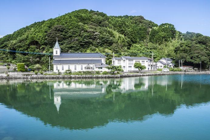 中ノ浦教会(長崎県上五島町)