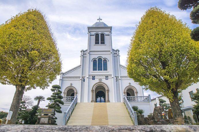 紐差教会(長崎県平戸市)