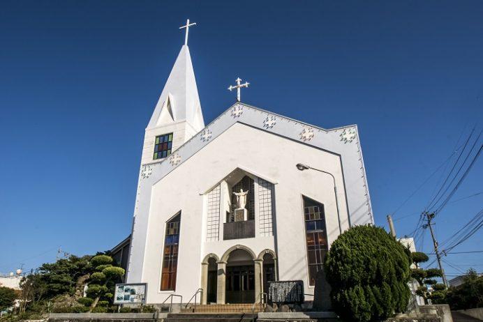 福江教会(五島市末広町)