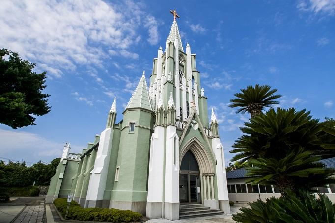 平戸ザビエル記念教会(平戸市鏡川町)