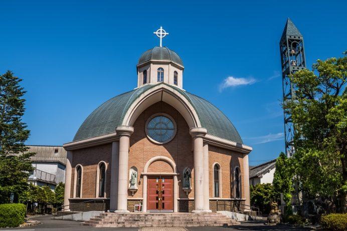 島原教会(長崎県島原市白土町))